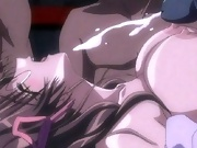 Anime Cutie grab penis and drilled like a dog