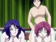 Hot anime chick with juicy boobs gets fucked by...